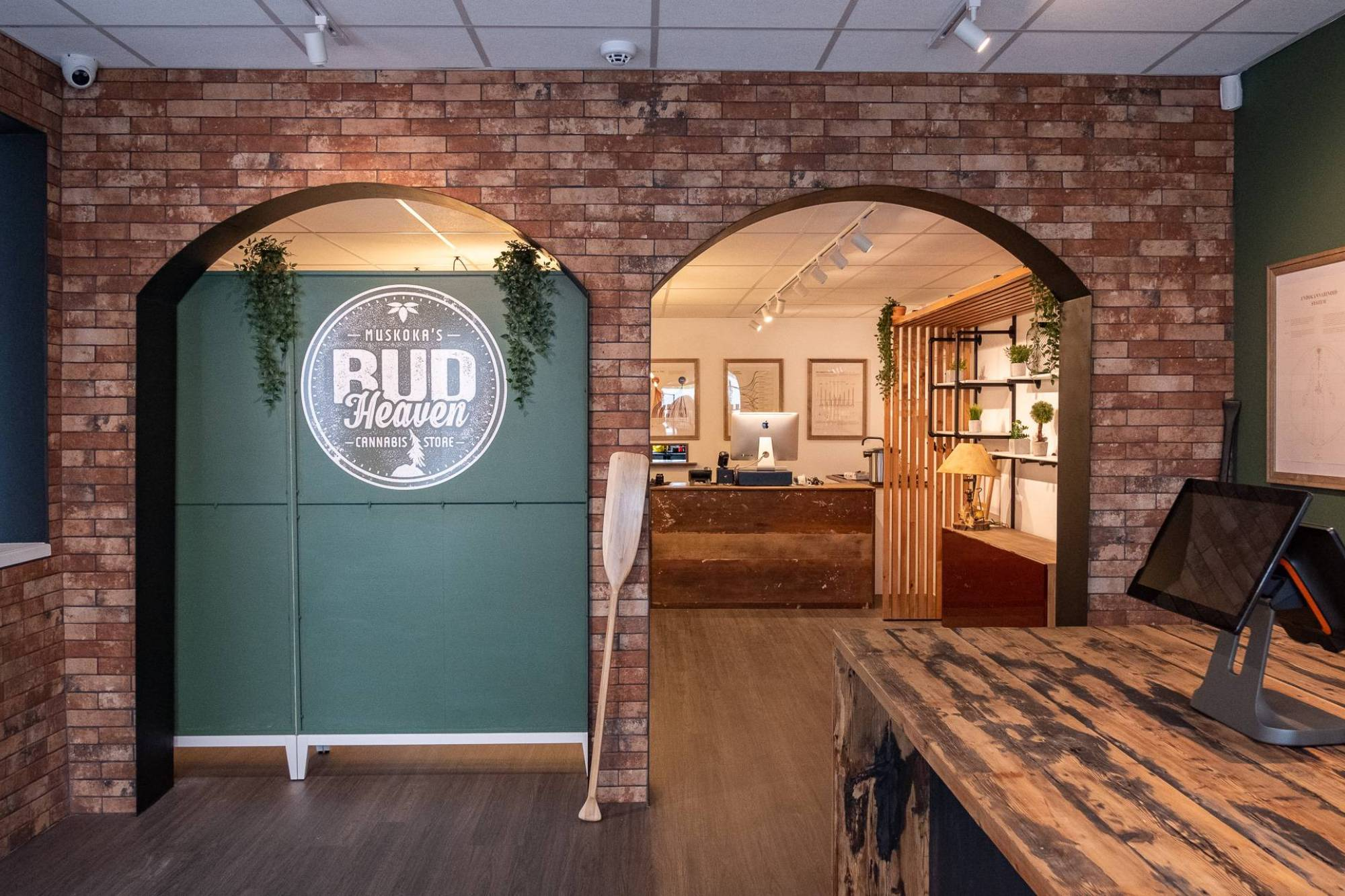 Bud Heaven Cannabis Store Front Lobby