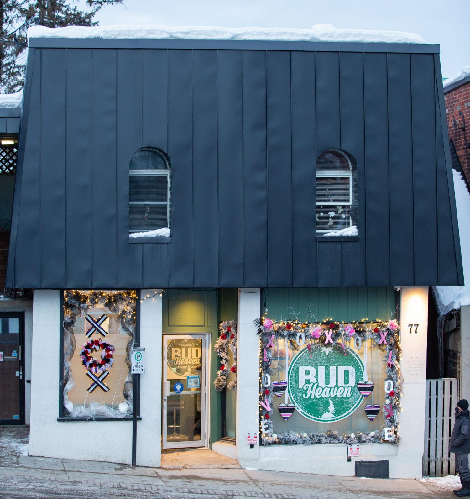 Bud Heaven Bracebridge Muskoka Store Front